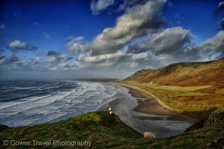 Insidertipps Wales Rhosilli-Bay-by-Gower-Travel-Photography