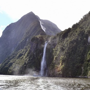 New Zealand Mountain Waterfall New Zealand on a short trip