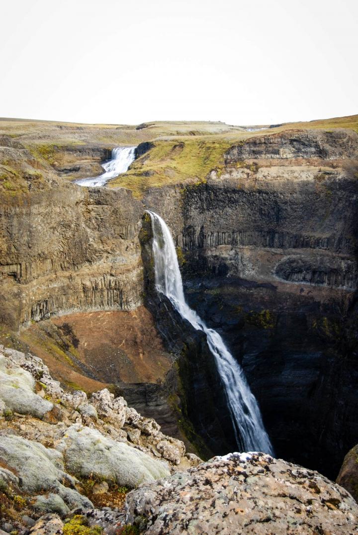 Islands Vulkane - wie der Eyjafjallajökull zur Sehenswürdigkeit wurde Glymur Wasserfall
