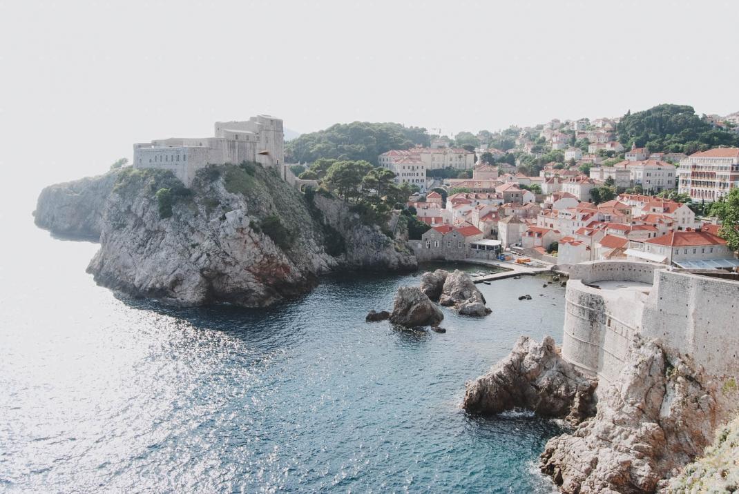 Hübsche Altstadt und Game of Thrones Kulisse Dubrovnik