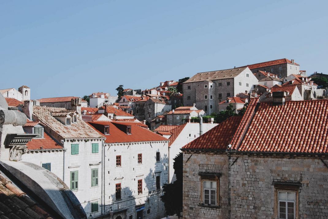 Straßen von Dubrovnik