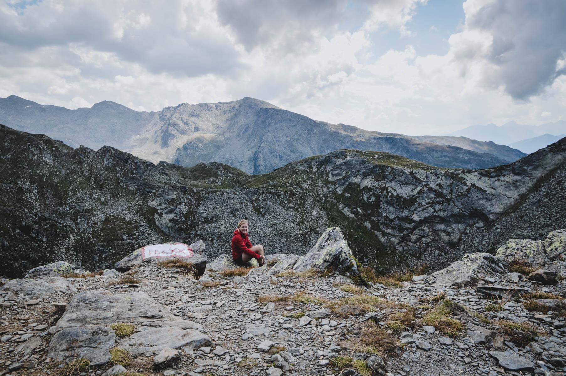 Abenteuer ist was du draus machst Gipfelbesteigung in den Alpen