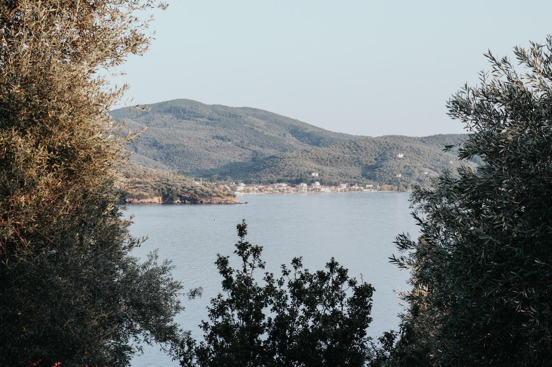 Sehnsuchtsorte Schmuckbild eine Bucht auf der griechischen Halbinsel Pilion
