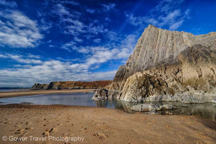 Insidertipps Wales Three-Cliffs-Bay-by-Gower-Travel-Photography