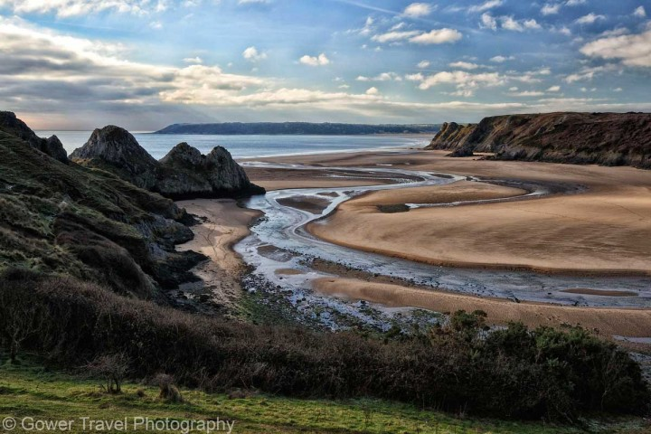 Three-Cliffs-and-Pennard-Pill-by-Gower-Travel-Photography
