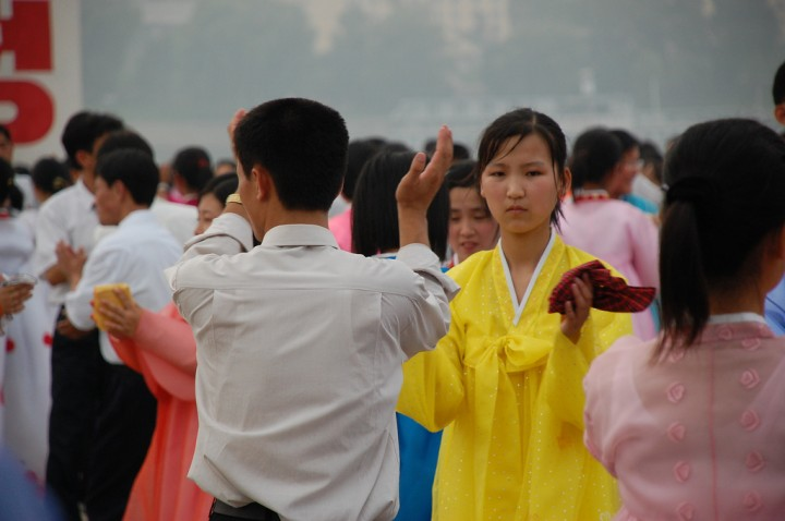 North Korea People in Pyongyang