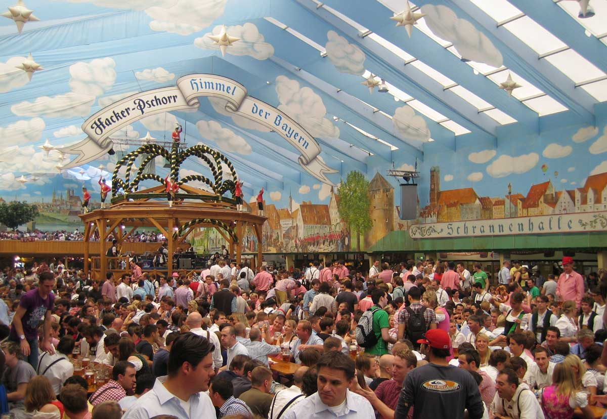 The Hacker-Pschorr Beer Tent - Heaven of the Bavarians and one of 14 Oktoberfest  sc 1 st  Anemina Travels & Oktoberfest: 10 things you need to know | Anemina Travels