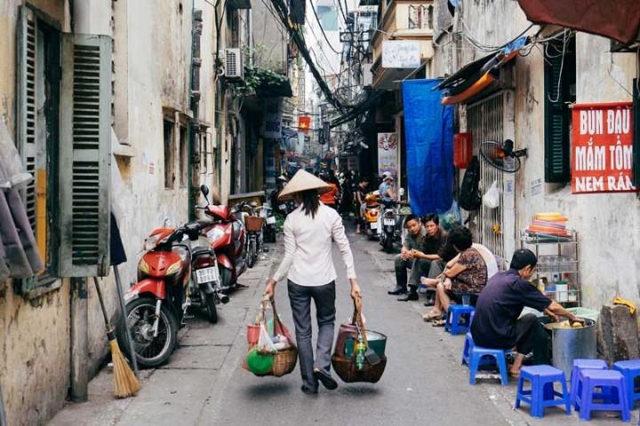 Vietnam-Reisen-Hanoi-Streets