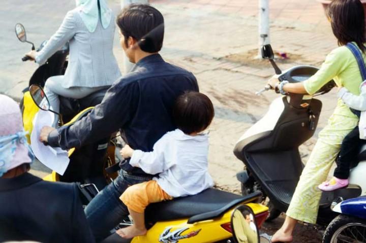 Vietnam-Reisen-Rollerfahren