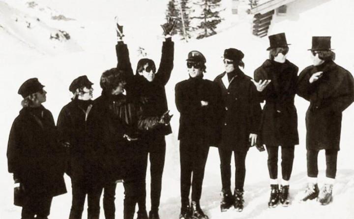 The-Beatles-in-Obertauern-mit-Doubles