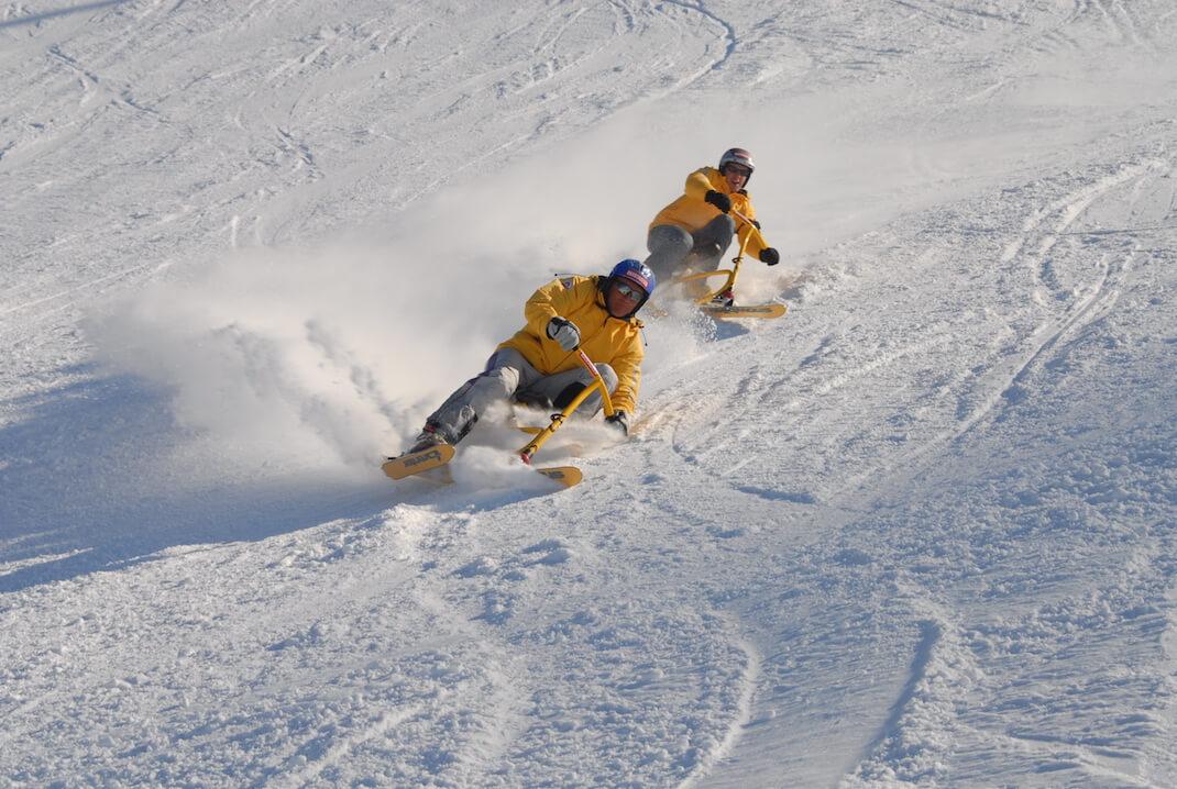 Obertauern Snowbiking. Foto: Tourismusverband Obertauern