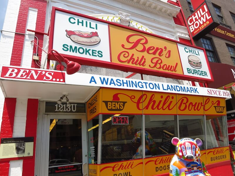 Geheimtipps für Washington D.C. Bens Chili Bowl Washington DC