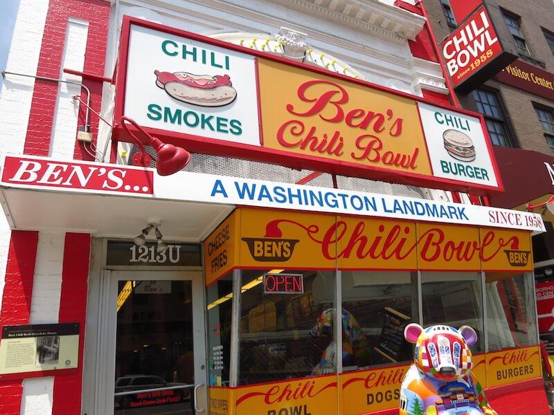Geheimtipps für Washington D.C. Bens Chili Bowl Washington DC