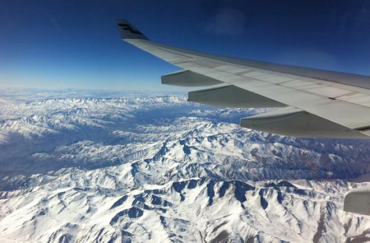 Hindukusch Afghanistan von oben
