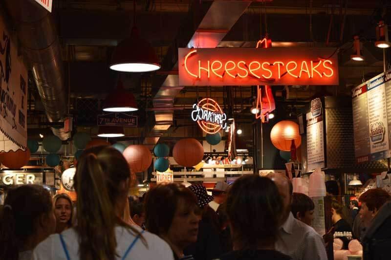 Hier hat auch Präsident Obama schon cheese steak gegessen.