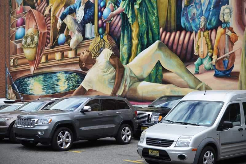 Philadelphia-Mural-Performing-Arts Meg Saligman: Philadelphia Muses