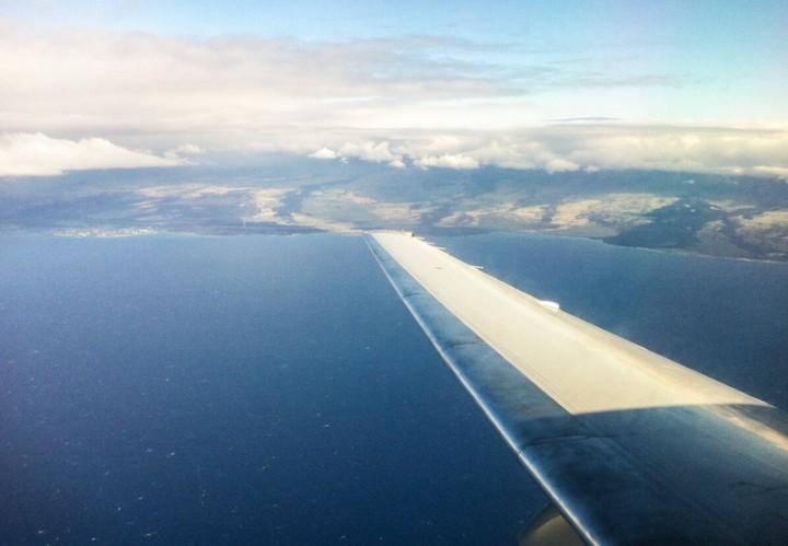 Hawaii Urlaub individuell planen Blick auf Hawaii aus der Luft