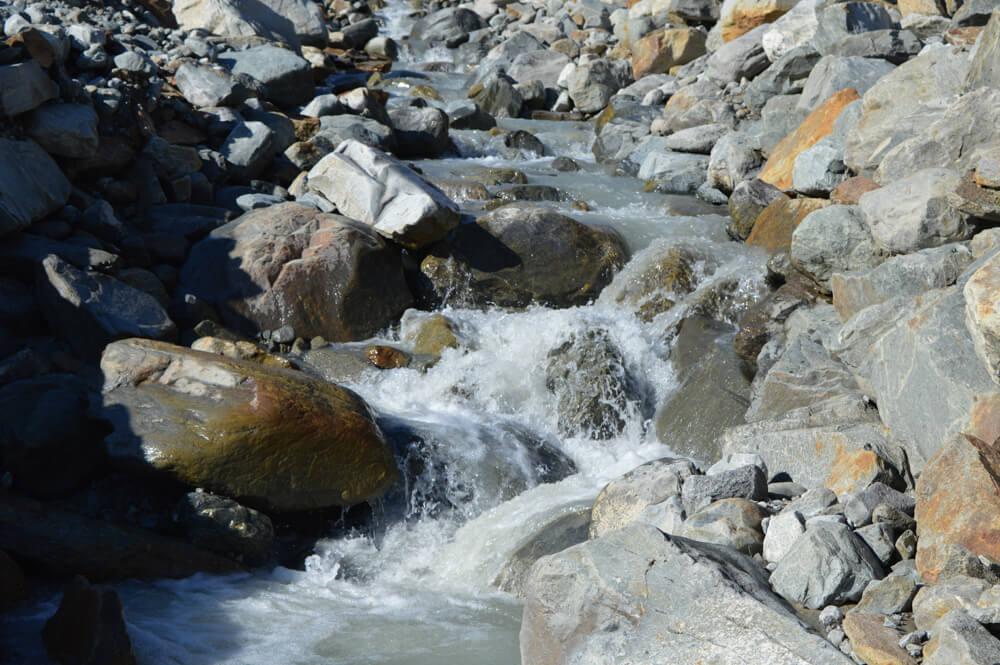 Stubaital Wilde Wasser Weg Wasser
