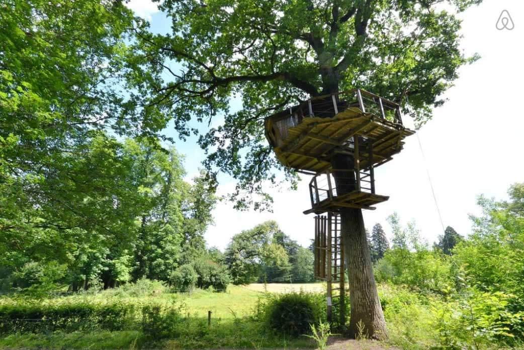 Baumhaus Frankreich besondere airbnb unterkünfte in europa baumhaus frankreich