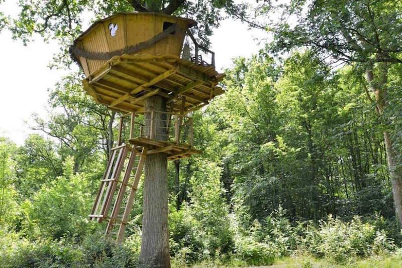 Baumhaus Frankreich besondere airbnb unterkünfte in europa baumhaus frankreich anemina
