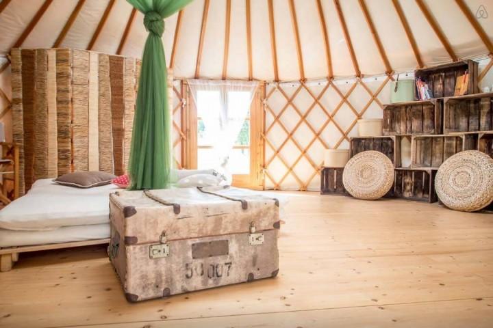 Besondere-Airbnb-unterkünfte in Europa-Jurte