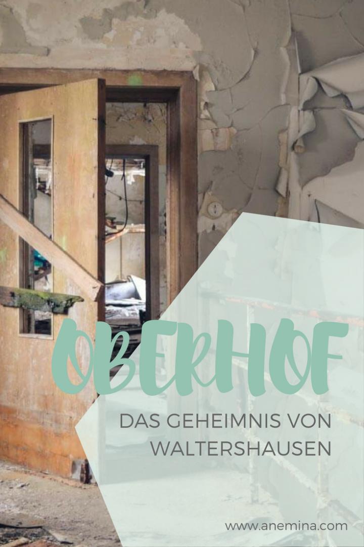 Waltershausen DDR-Nobelherberge auf Pinterest Lost Place finden und besuchen im Thüringer Wald