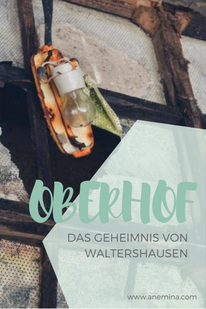 Waltershausen das Geheimnis von Oberhof DDR-Herberge Lost Place im Thüringer Wald entdecken