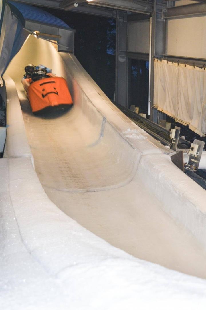 Tipps für Oberhof Thüringen Bobbahn Ice Rafting
