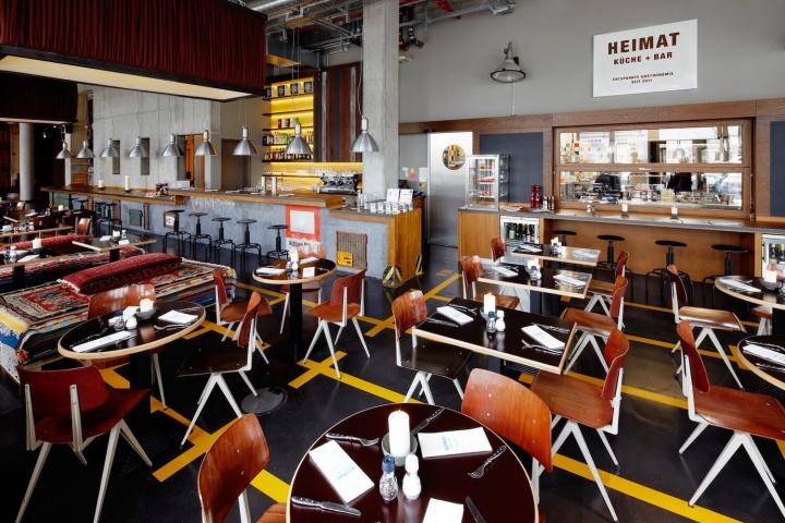 25 hours hotel Hamburg Hafencity Restaurant und Bar Heimat