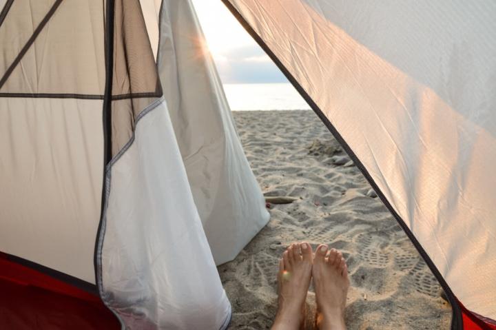 Roadtrip durch Kanada und die USA-Die Route-Camping am Eriesee
