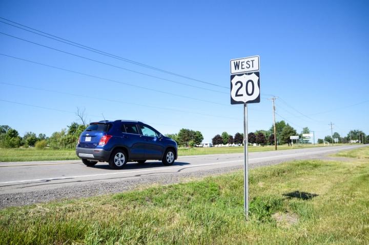 Roadtrip durch Kanada und die USA-Die Route Der MIetwagen