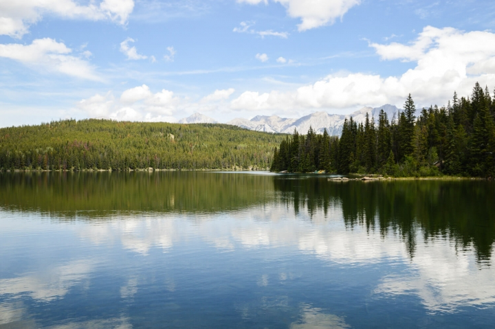 Roadtrip durch Kanada und die USA-Die Route-Lake Annette