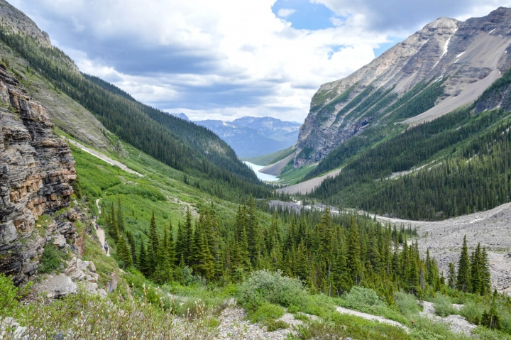 Roadtrip durch Kanada und die USA-Die Route-Lake Louise