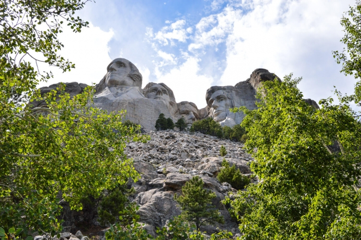 Roadtrip durch Kanada und die USA-Die Route-Mount Rushmore