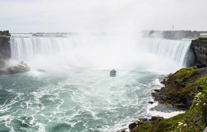 Roadtrip durch Kanada und die USA-Die Route-Niagarafälle