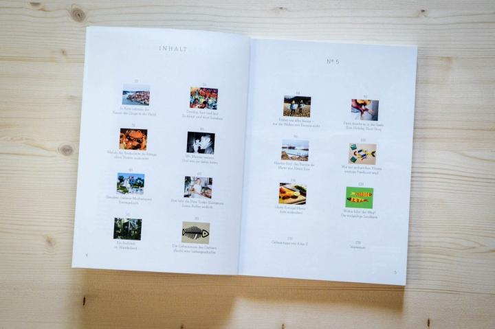 Die schönsten Independent-Magazine für Reisende Il Paradiso Vol 5 Portugal Inhaltsverzeichnis
