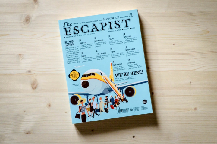 Die schönsten Independent-Reisemagazine The Escapist