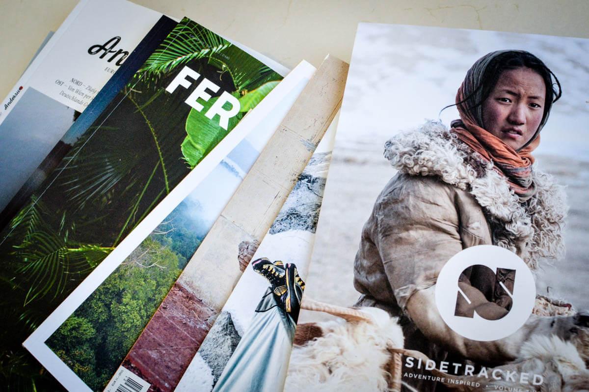 Die schönsten Independent-Reisemagazine Titelbild