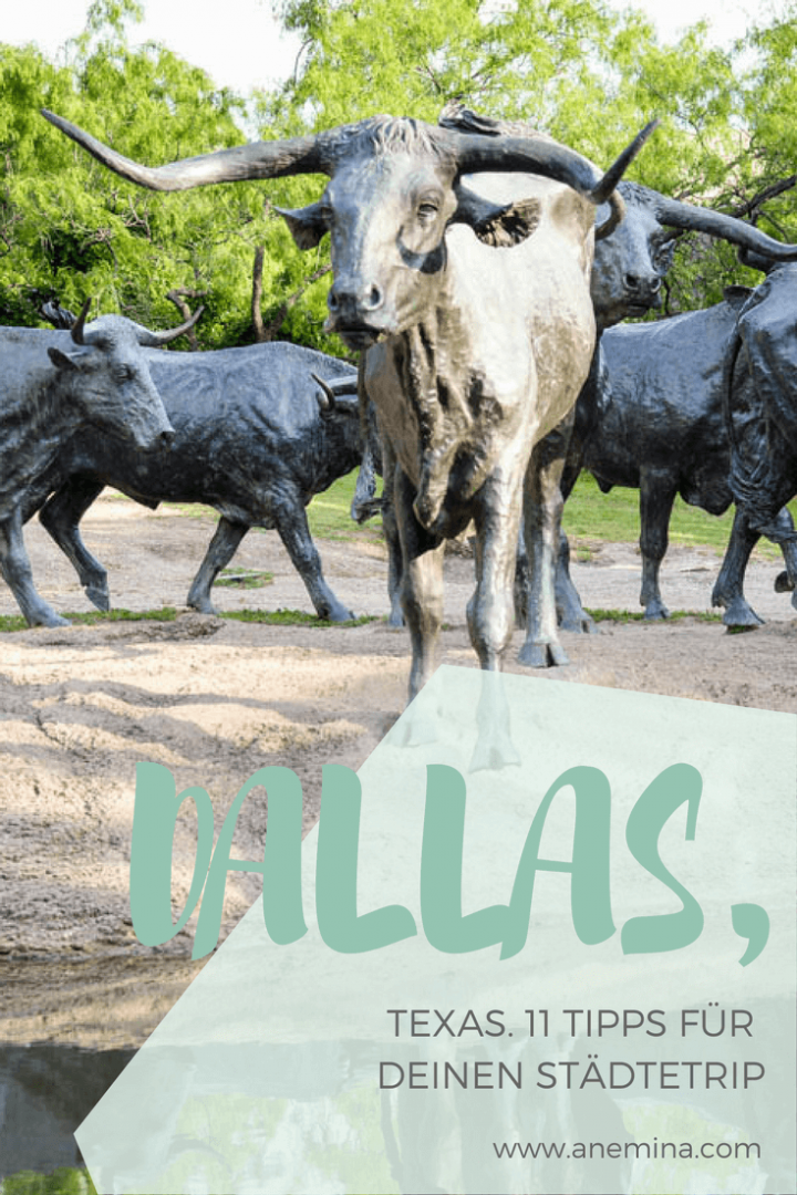 Dallas, Texas Miniguide Sightseeing Pioneer Plaza Pinterest