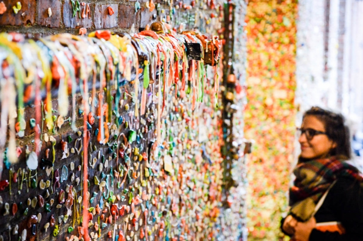 Seattle-Guide Gum Wall mit Innasky