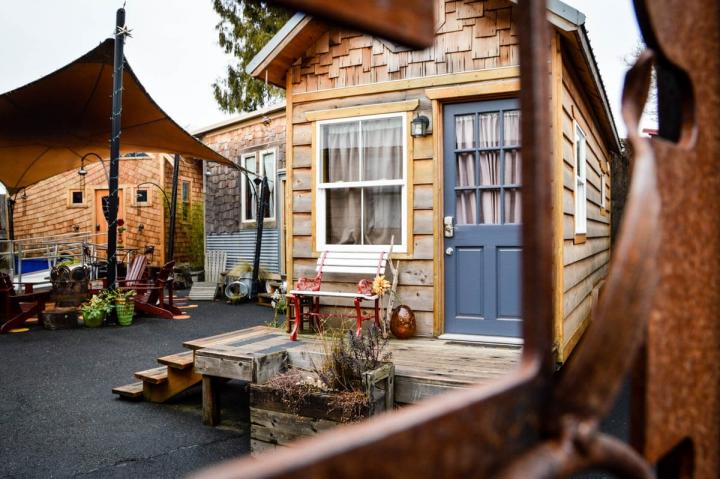 Portland-Tipps Tiny House Hotel Übernachtungstipp