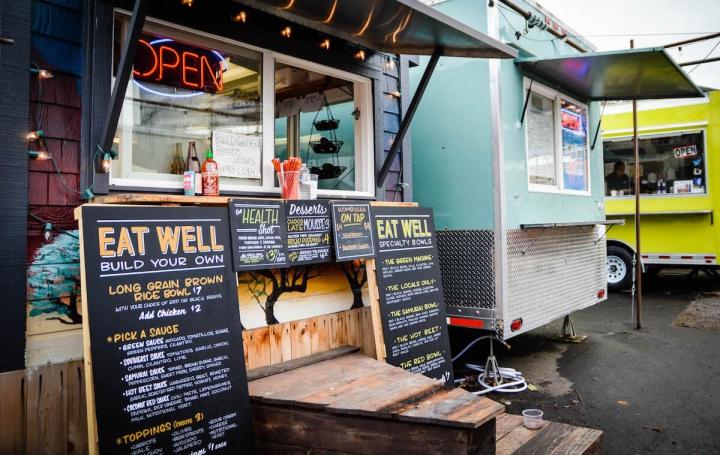 Portland Oregon Tipps Essen Tidbit Food Carts
