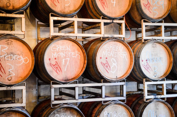 Portland Oregon Tipps Teutonic Heavy Metal Winery Wein-Sorte Green Monster