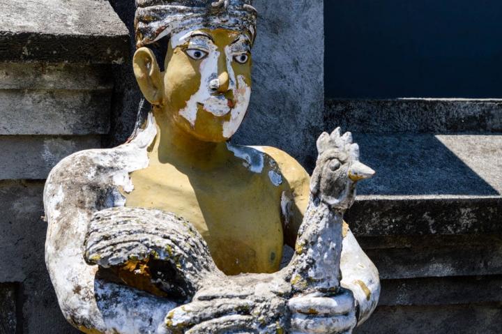 Bali Götterstatue