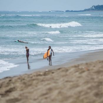 Surferin am Old Man Canggu Bali