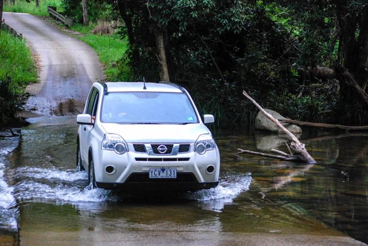 Australien Ostküste mit dem Mietwagen durchs Wasser