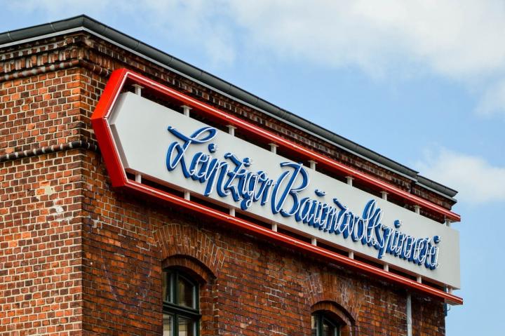 Die Leipziger Baumwollspinnerei war einst die größte ihrer Art in Europa. Heute beherbergt sie hauptsächlich Ateliers und Ausstellungsräume.