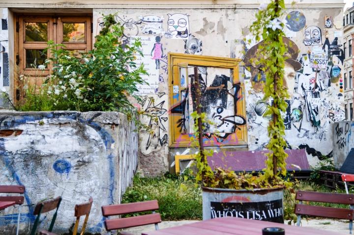 Street Art auf der Karli in Leipzig