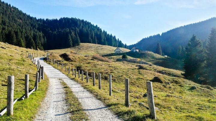 Trentino im Herbst Wandern im Bärental Valle Orsara Alm