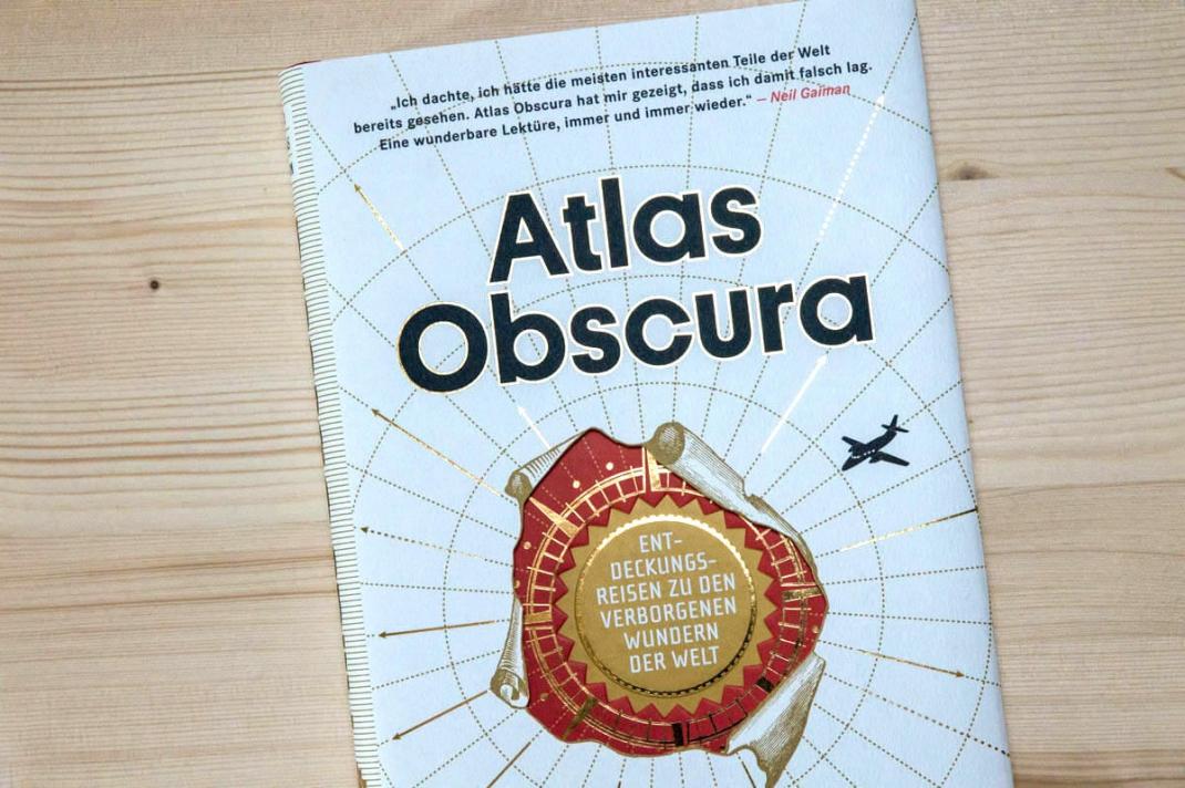 Die schönsten BIldbände 2017 für Weltenbummler und Reisende Atlas Obscura